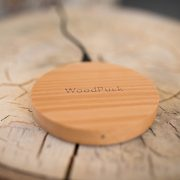 WoodPuck Mobile Charging Device